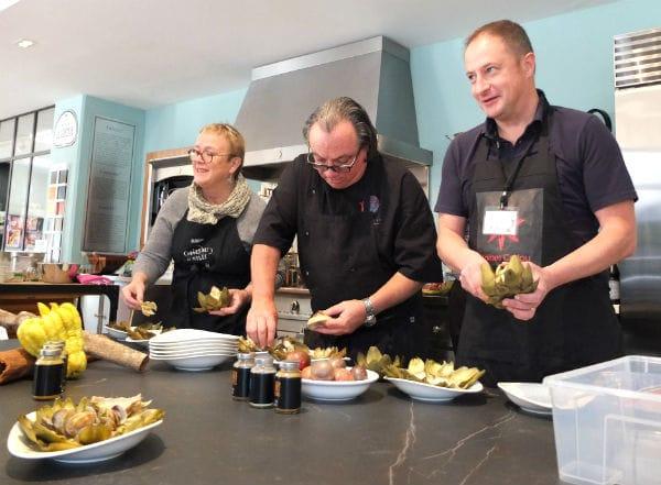 Les Ateliers Malegol invitent le chef Didier Corlou pour fêter les 2 ans de la galerie rennaise