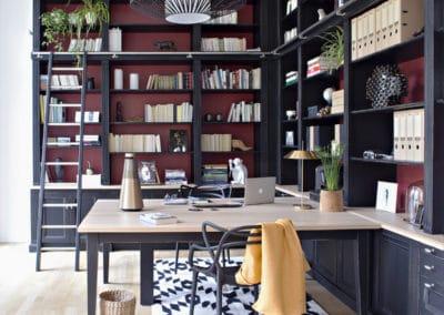bibliotheque-sur-mesure-chene-lannion