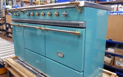 Dans les secrets de fabrication des pianos de cuisson Lacanche