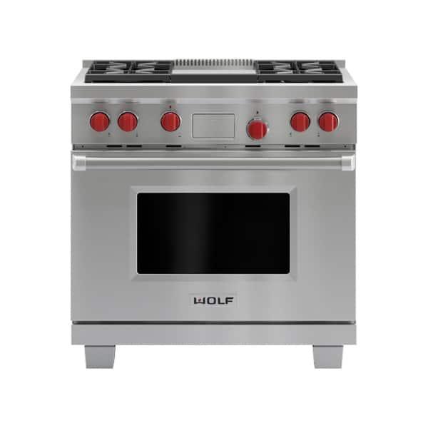 cuisiniere wolf mixte 914
